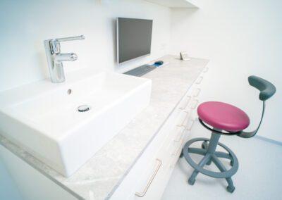 Einrichtung Zahnarztparxis Dr. Hotic